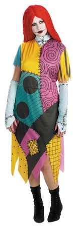 Plus Size Nightmare Before Christmas Sally Costume