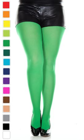 Plus Size Nylon Tights - More Colors