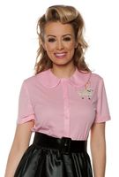Plus Size 50\'s Sock Hop Costumes - Poodle Skirts, Pink ...