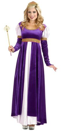 Plus Size Purple Lady of Camelot Costume