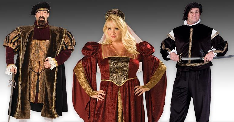 915569ea92b Plus Size Renaissance and Medieval Costumes