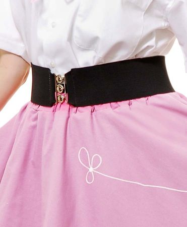 Plus Size Retro Elastic Cinch Belt