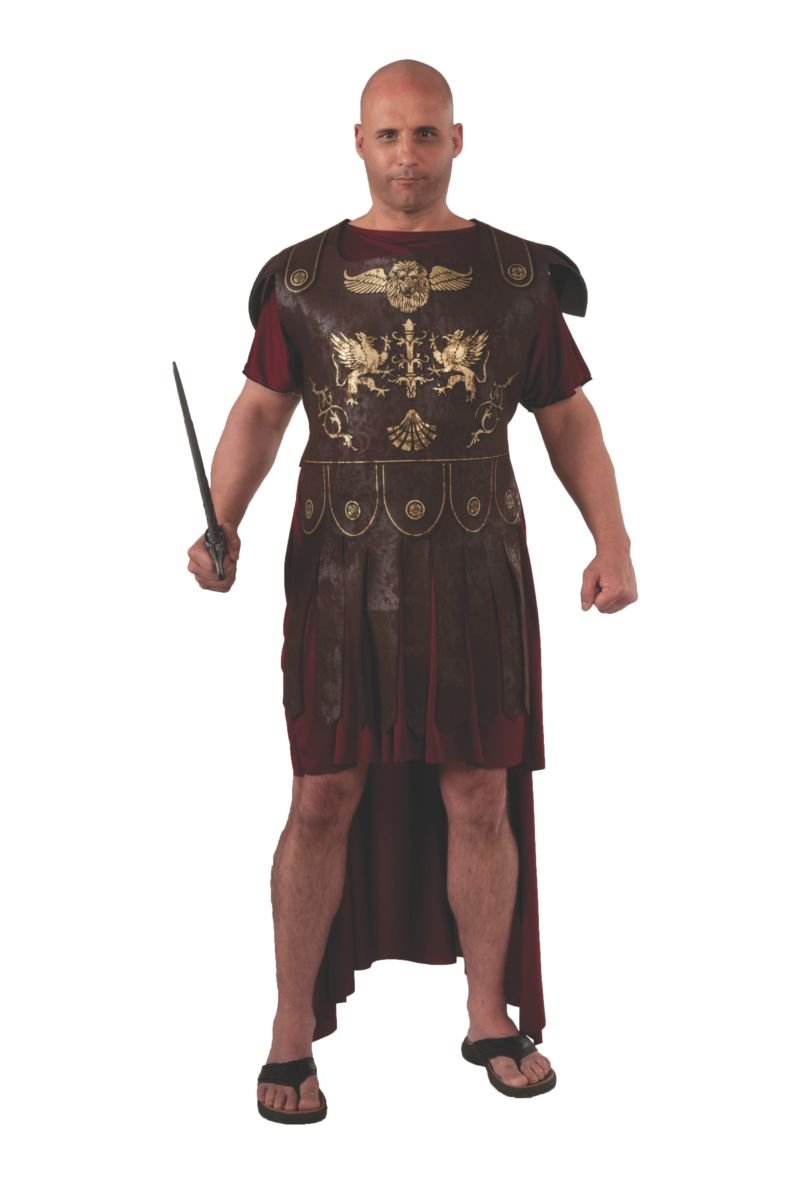 Plus Size Roman Gladiator Costume Candy Apple Costumes