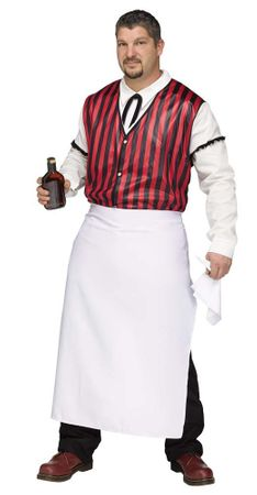 Plus Size Saloon Keeper Costume