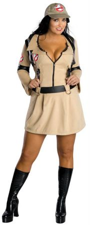 Plus Size Sexy Ghostbuster Babe Costume