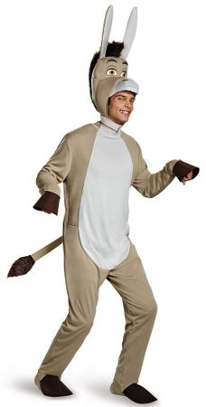 Plus Size Shrek Donkey Costume