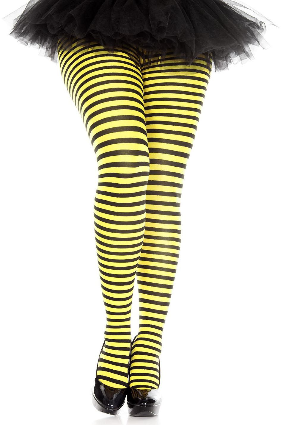 e1193a4b9a55c Plus Size Striped Tights - More Colors - Candy Apple Costumes ...