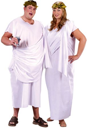 Plus Size Toga Toga Costume