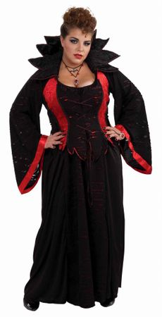 Plus Size Vampiress XXXL Costume