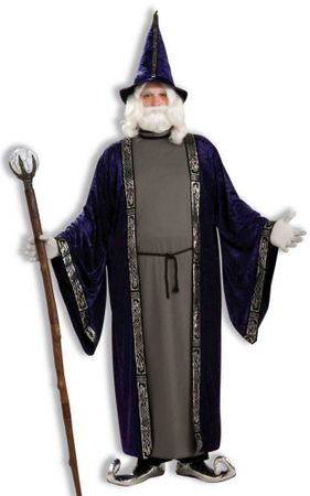 Plus Size Wise Wizard Costume