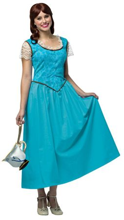 Plus Size Women's Belle Costume - Once Upon a Time