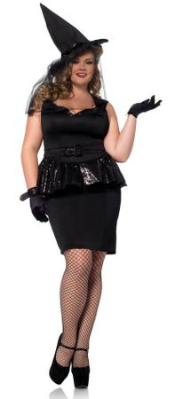 Plus Size Women's Vintage Witch Costume