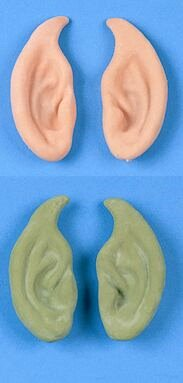Pointed Ears - Nude or Green