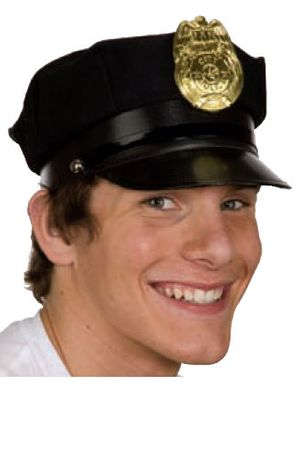 Police Hat - Navy or Black