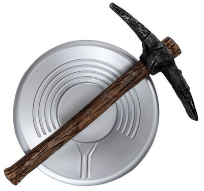 Prospector Pick Axe and Pan Set