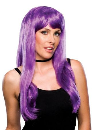 Purple Glamour Wig