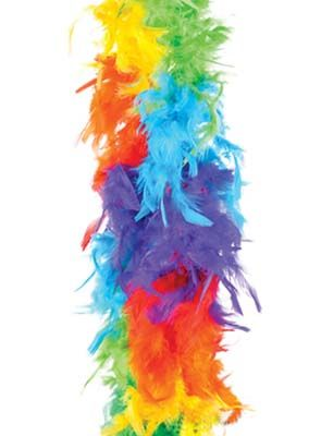 Rainbow Feather Boa Candy Apple Costumes St Patrick S