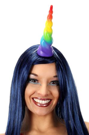 Rainbow Unicorn Horn