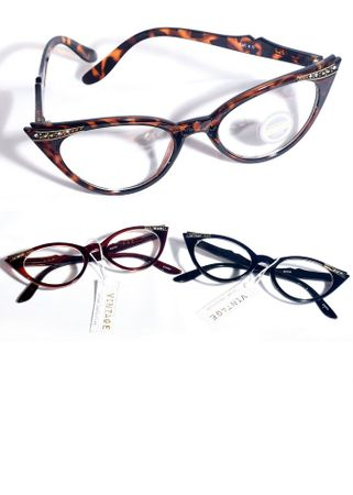 Retro Style 50's Cat Eye Glasses