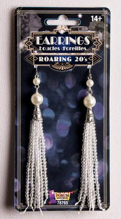 Roaring 20's Flapper Tassel Earrings