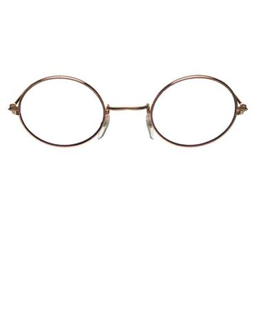 Round Gold Rim Glasses