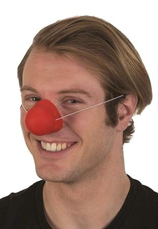 Rubber Squeaking Clown Nose