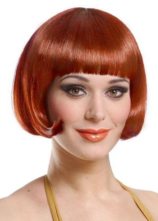 Sassy Natural Red Wig
