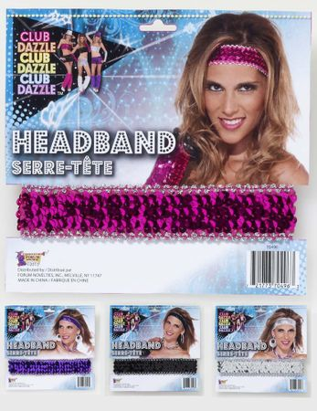 Sequin Stretch Headband - More Colors