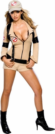 Sexy Ghostbuster Babe Costume
