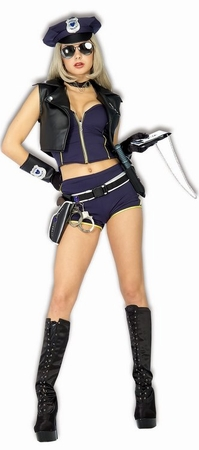 Sexy Motorcycle Cop Costume