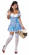 Sexy Sparkle Dorothy Costume - Wizard of Oz, Size XS