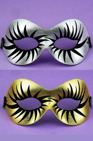 Silver or Gold Maquillage Half Mask