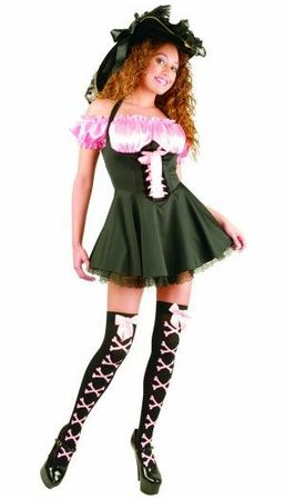 Storybook Pirate Costume - Pink or Red