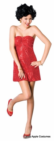 Teen Size Betty Boop Costume