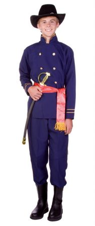 Teen Union Officer Civil War Costume