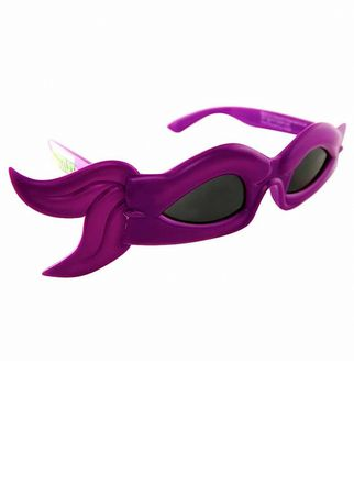 Teenage Mutant Ninja Turtles Donatello Bandana Sunglasses Purple