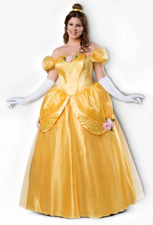 Theatrical Quality Plus Size Beautiful Princess Costume