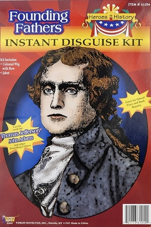 Thomas Jefferson Costume Kit