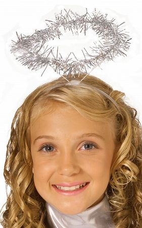 Tinsel Angel Halo