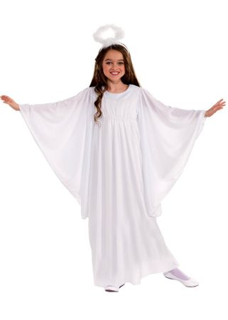 Toddler Angel Costume With Bell Sleeves