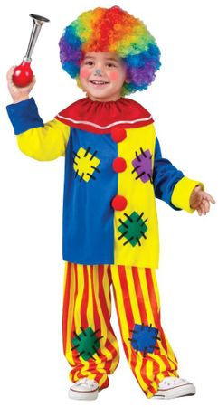 Infant/Toddler Big Top Clown Costume