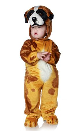 Infant/Toddler Brown Dog Costume