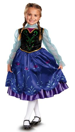 Toddler/Child Disney Frozen Anna Deluxe Costume