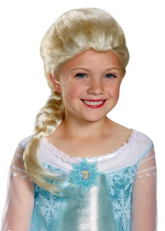 Toddler/Child Disney Frozen Elsa Wig