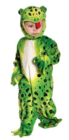 Toddler/Child Green Frog Costume