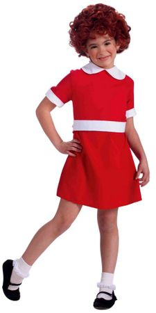 Toddler/Child Little Orphan Annie Costume
