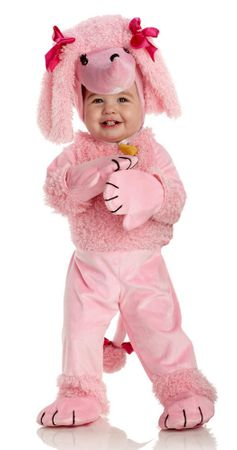 Infant/Toddler Pink Poodle Costume