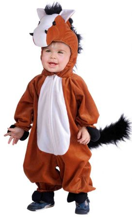 Toddler/Child Plush Brown Horse Costume