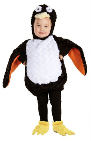 Toddler/Child Plush Penguin Costume