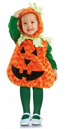 Toddler/Child Plush Pumpkin Costume